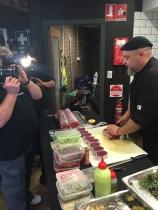 Backstage Chef filming Sydney