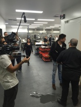 Filming Backstage Chef in Melbourne