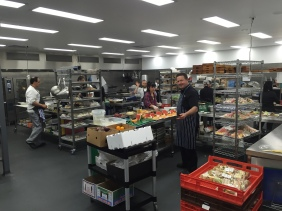 The Backstage Chef Melbourne kitchen
